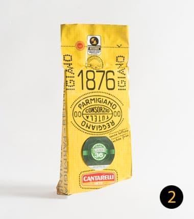 parmigiano reggiano cantarelli 36 mesi 500 gr