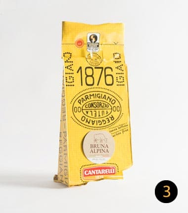 parmigiano reggiano cantarelli bruna alpina 500 gr