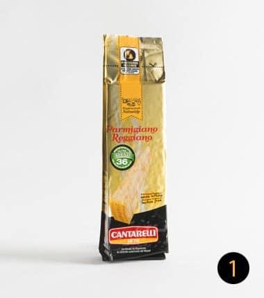 parmigiano reggiano cantarelli 36 mesi 250 gr