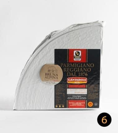 parmigiano reggiano cantarelli bruna alpina